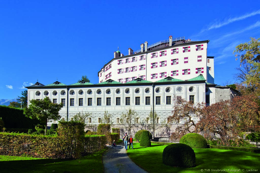Ambras castle and Wilten monastery