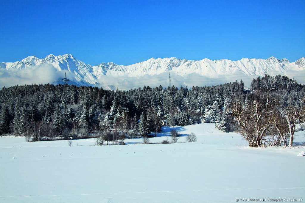 Cross-Country Skiing in Lans near Innsbruck
